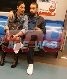 Florin Salam in metrou